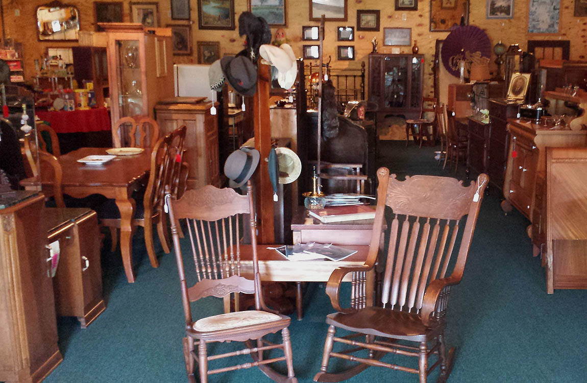 Furnishings. Unique antique furniture ... - Antiques Roadhouse - Indian River Michigan